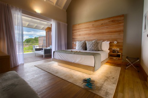 Bedroom, Ocean View Pool Chalet - SeyExclusive.com